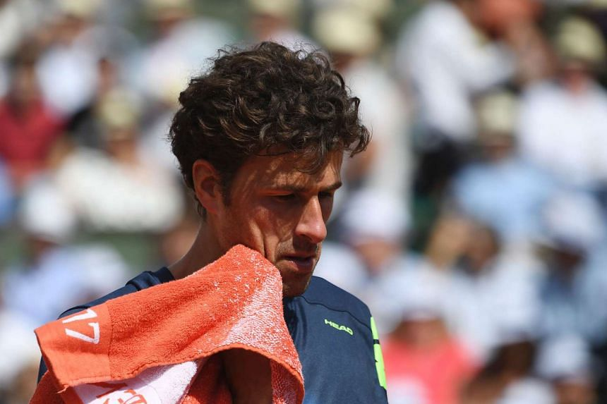 Robin Haase (above, in a file photo) will next face Frenchman Richard Gasquet.
