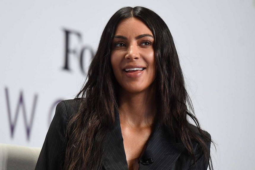 Kim Kardashian attends the 2017 Forbes Women's Summit on June 13, 2017, in New York City.