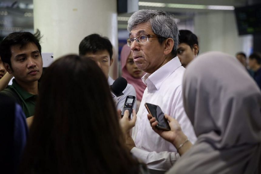 """""""We need alternative narratives online and to make them popular,"""" said Dr Yaacob Ibrahim while speaking to reporters at Eunos station on June 22, 2017."""
