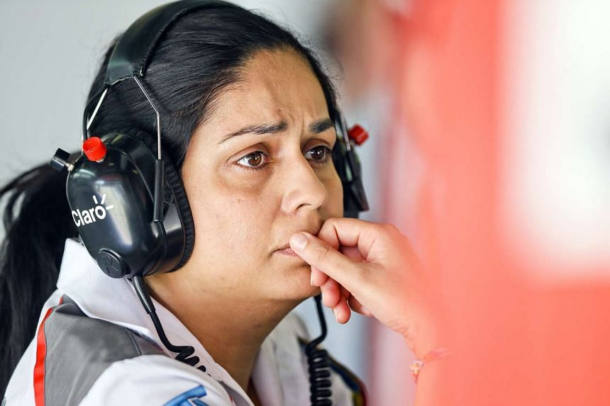 Former Sauber Formula One Team Principal Monisha Kaltenborn is seen during the first practice session for the 2014 Formula Grand Prix of Spain at Circuit de Catalunya in Montmelo, near Barcelona, Spain on May 9, 2014.