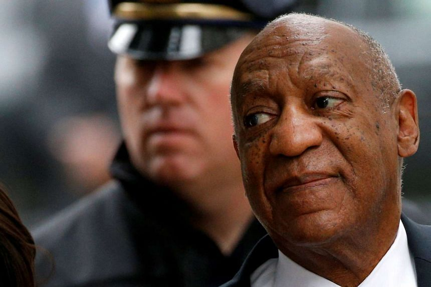 Cosby arriving for the third day of his sexual assault trial.