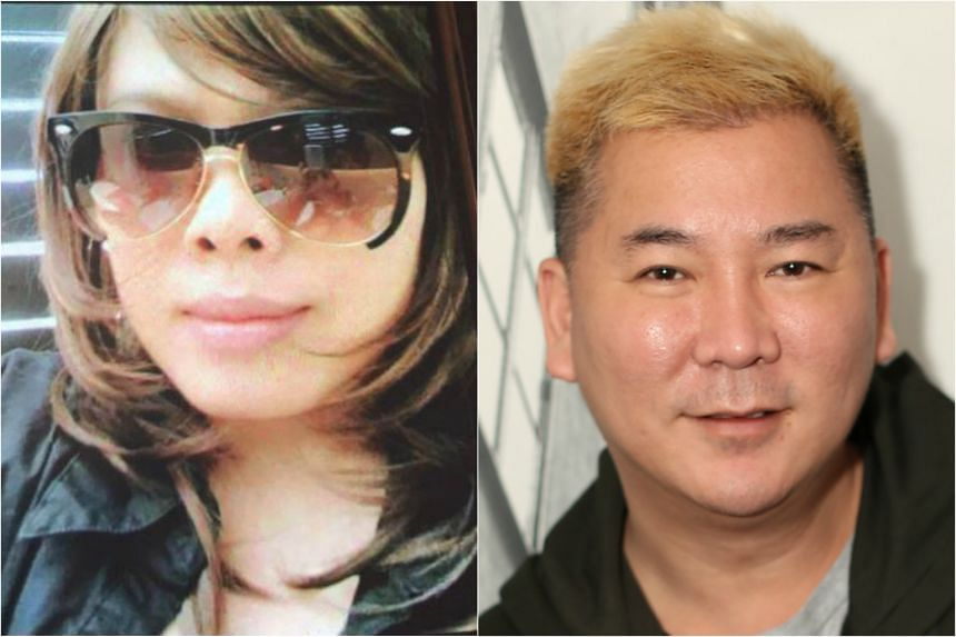 Indonesian maid Namih Nurlaela is accused of stealing a Hermes bag from her employer, Mr Lee Eng Tat(right), better known as celebrity hairstylist Addy Lee.