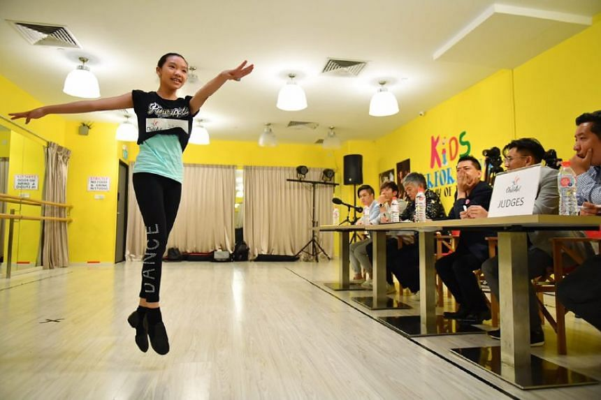 Emily Ho, 11, Primary 5: Dance, Sing, Emcee
