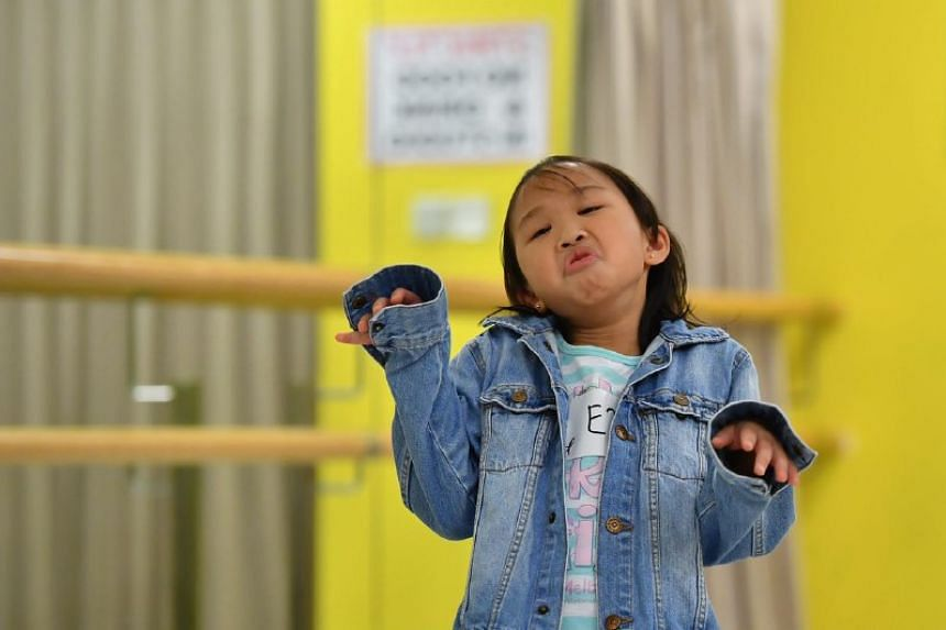 Andrea Joy Koh Rui Qi, 8, Primary 2: Emcee and acting