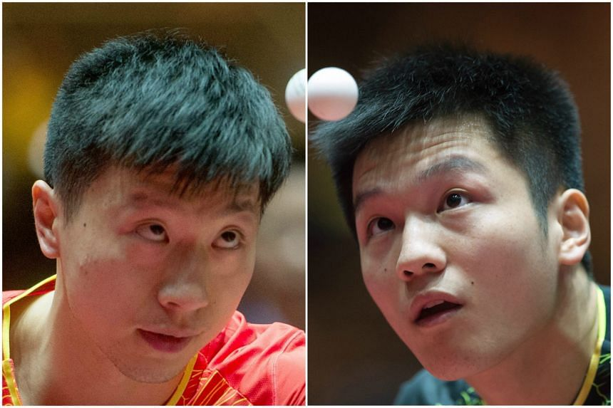 China's Ma Long and Fan Zhendong  did not show up for their second-round singles matches at the China Open.