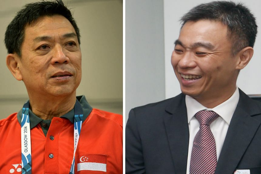 It is understood that the pro-tem body will be co-chaired by SNOC secretary-general Chris Chan (left) and Singapore Sports Institute (SSI) chief Toh Boon Yi.