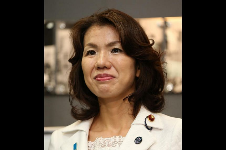 Mayuko Toyota has resigned after an audio tape emerged of her violently attacking a male secretary.