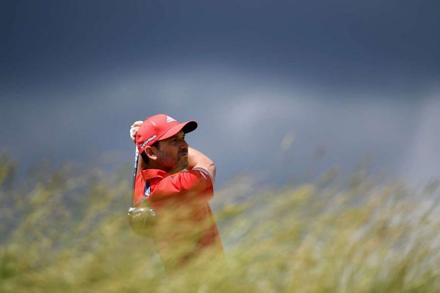 Sergio Garcia (above in a file photo) scored an opening round 66.