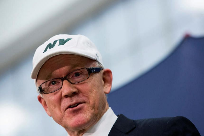 Mr Johnson, 70, owns the New York Jets - a member of the National Football League - and has an extensive record for raising cash for Republicans.