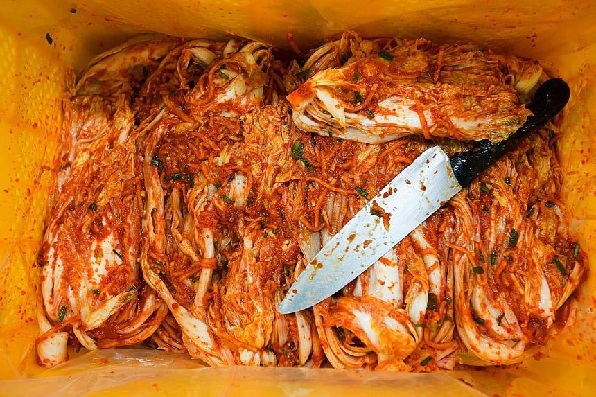Scientists are trying to increase the good bacteria in kimchi - especially the lactic acid that gives it its probiotic qualities - and reduce the pungent smell to make it more palatable to Westerners.