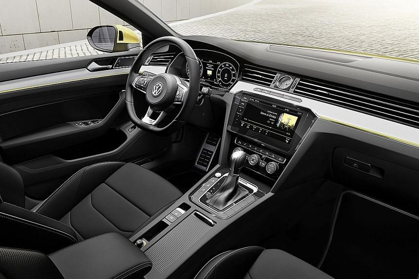 The striking Arteon offers a smooth performance and its dashboard's ergonomics is first-class.