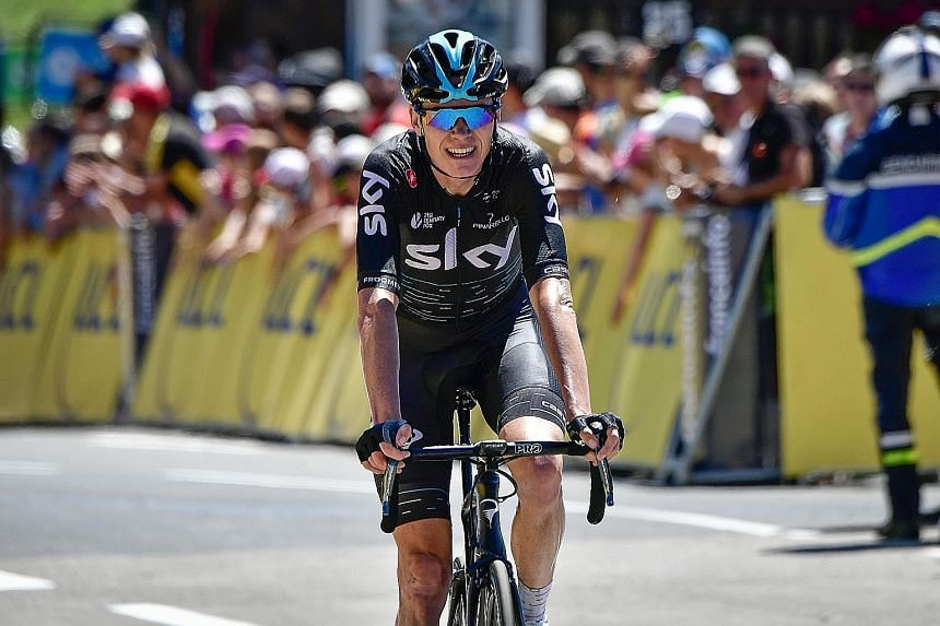 Team Sky's British rider Chris Froome has said that he was not involved in the doping scandal that surrounds his team, and that he is focusing only on the Tour de France which starts next Saturday.