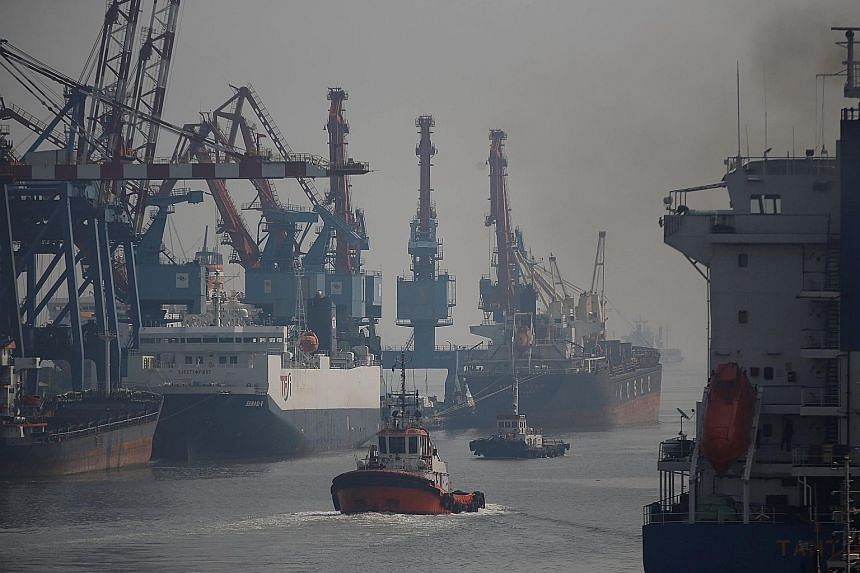 Tanjung Priok port in Jakarta, Indonesia. Manufacturers have long criticised Indonesia's shipping system, saying it slows the import of raw materials and the export of finished products.