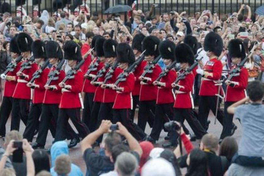 Megan Couto will call out the drill commands for the ceremonial Changing of the Guards on June 26, 2017.