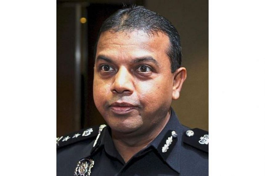 The head of Malaysian police force's counter-terrorism division Ayob Khan Mydin Pitchay, seen as the main threat against the terror group in the region.