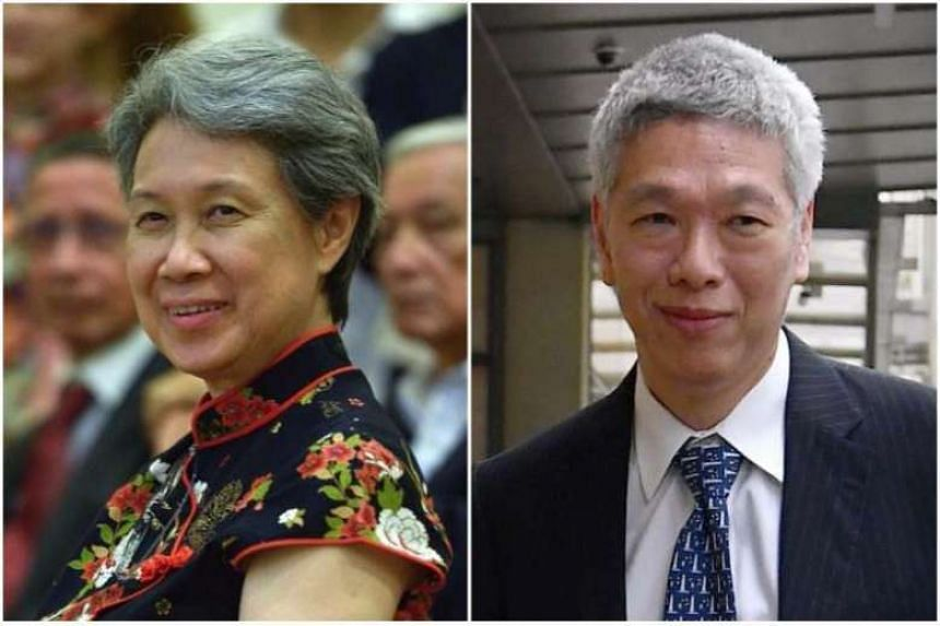 Ms Ho Ching posted a reply on Mr Lee Hsien Yang's Facebook page, saying that she kept him and his sister Lee Wei Ling informed about the items loaned to the National Heritage Board.