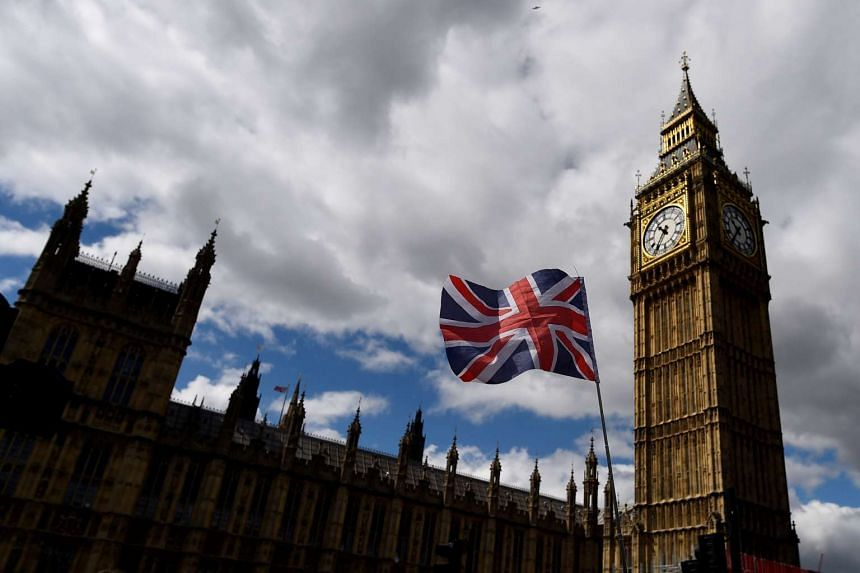 The Union Flag flies near the Houses of Parliament in London, Britain, June 7, 2017.