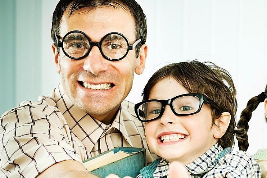 "Researchers found that children born to older fathers tended to score slightly higher on the ""geek index"" and do better in school exams, particularly in science, technology, engineering and maths subjects."