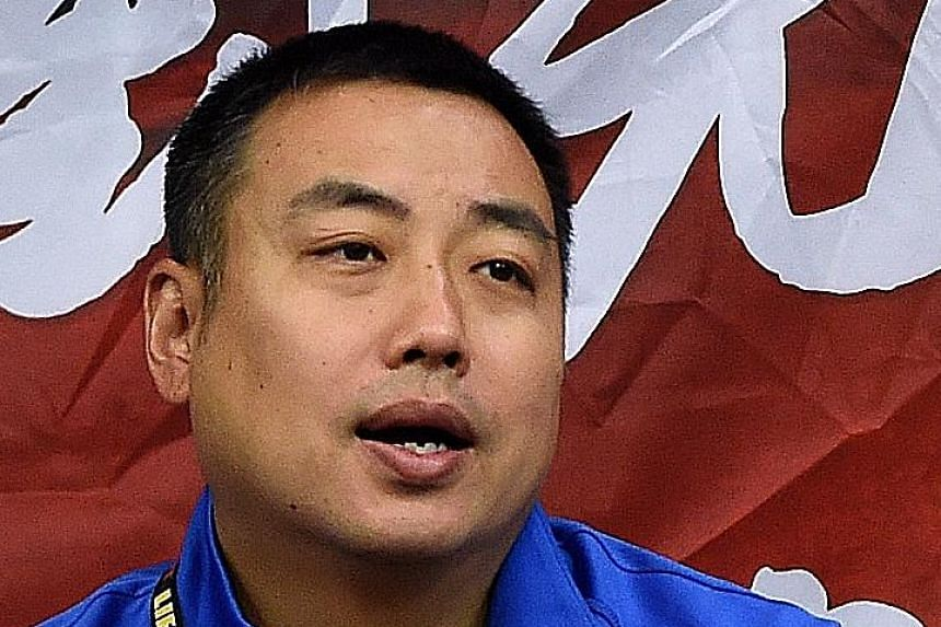 The Chinese table tennis team said their players reacted to Liu Guoliang's (above) removal as head coach impulsively.