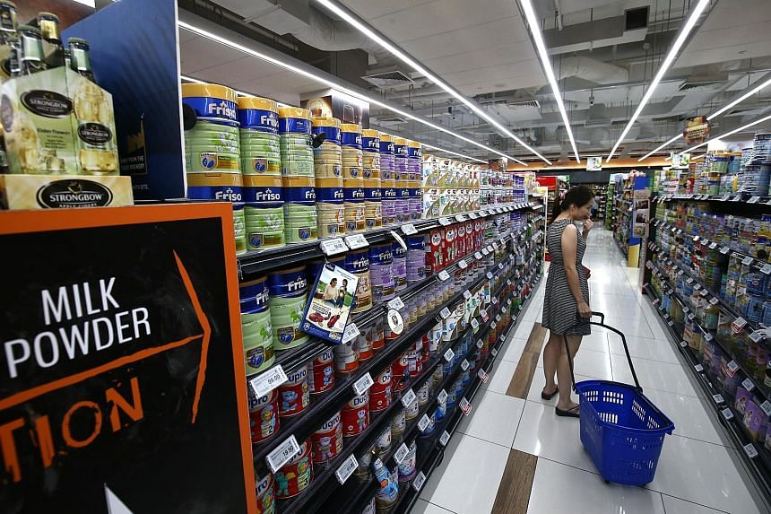 Sheng Siong's margins are on the uptrend but the market is concerned about competition for shop space and the online threat.