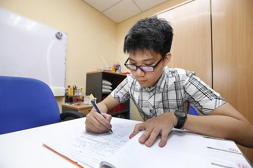 Temasek Polytechnic student Gerald Soh, 17, says the HeadsUp programme has helped him better manage his time during a school day by teaching him to plan how to handle a task, as well as to monitor and evaluate how it has been executed.