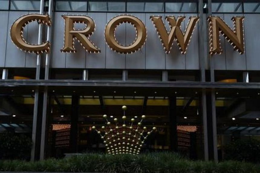 The Crown casino in Melbourne. Crown does not directly run casinos in China but it relies heavily on Chinese gamblers at its Australian operations,