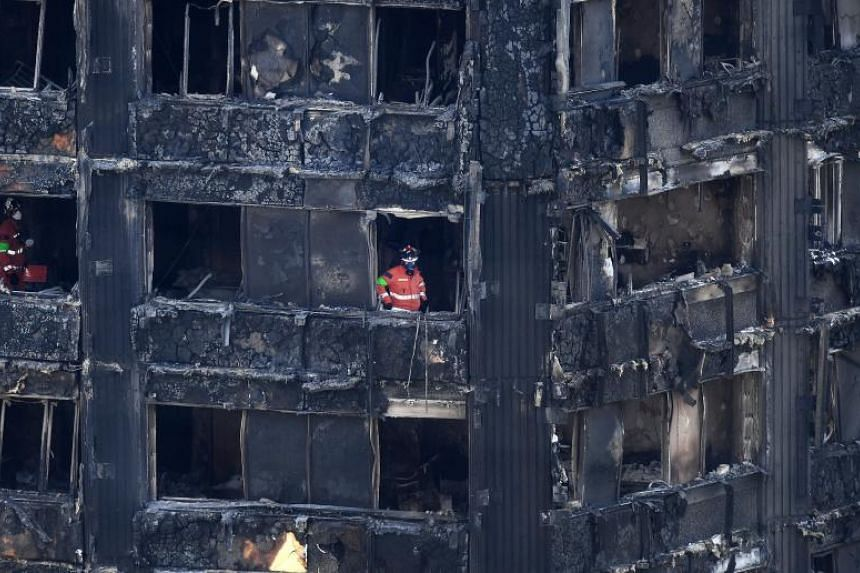 The fallout from London's Grenfell Tower blaze continued on Sunday (June 25) with the government announcing 60 high-rises have failed safety tests.