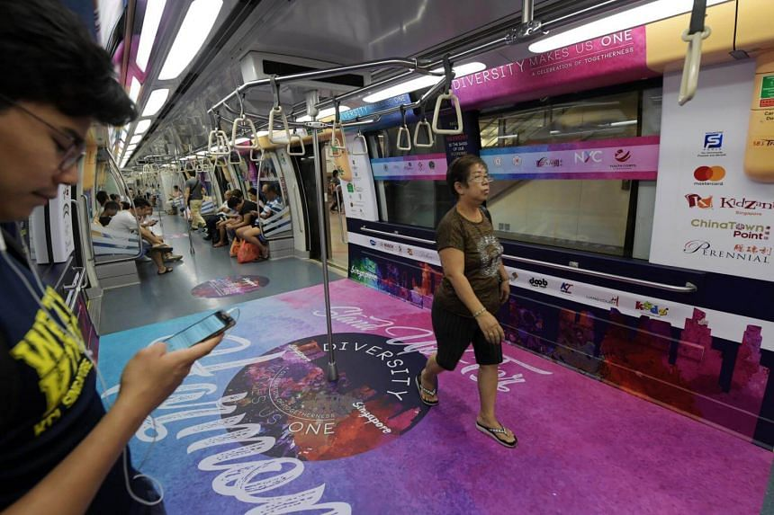 The Harmony Train will run for the next six to eight weeks, throughout the Harmony Month of July.