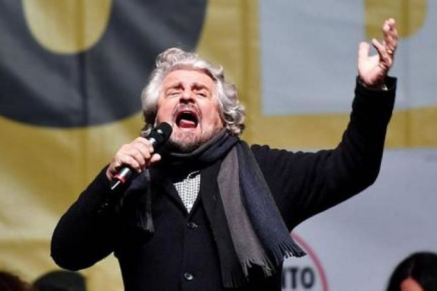 The leader of the anti-establishment Five Star Movement, Beppe Grillo. In the complicated calculus of Italian politics, the local elections may have adjusted variables just enough to change national outcomes.