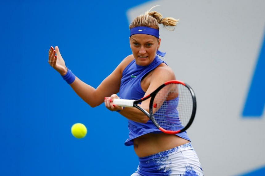 Kvitova suffered severe cuts to her hand during a robbery at her home in December. The injury sidelined her until her comeback at the French Open in May.