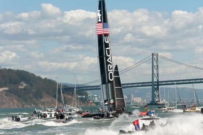 The US victory gave Oracle Team USA hope of another comeback against New Zealand.