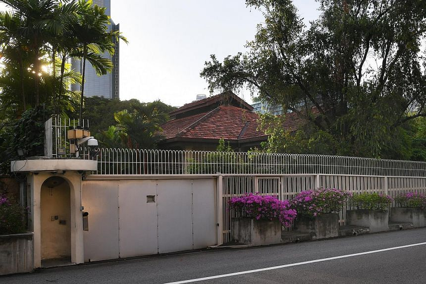Senior Minister of State for Law Indranee Rajah, in a Facebook post on Monday (June 26), listed four options for 38, Oxley Road (pictured).