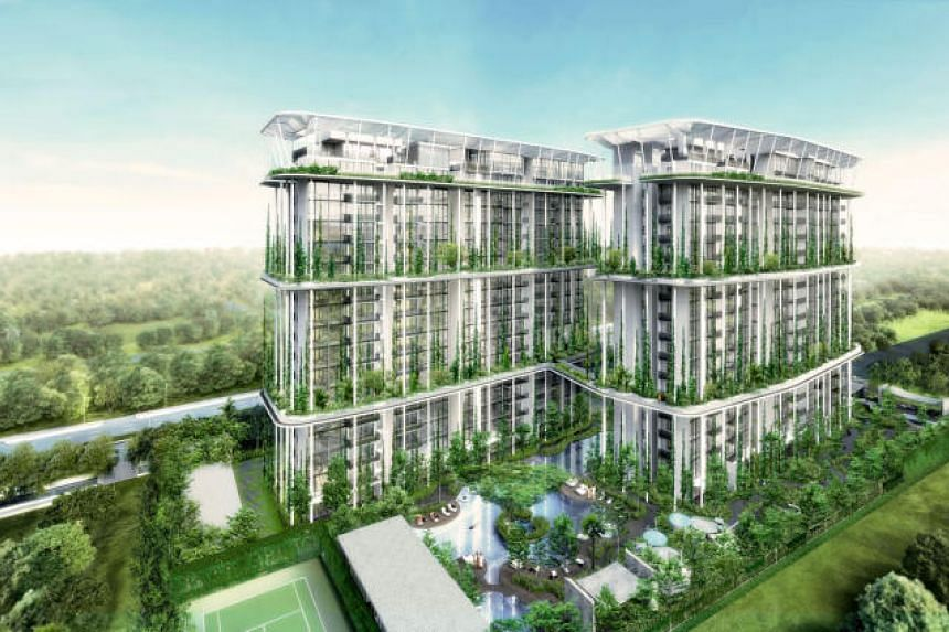 Artist's impression of The Tembusu condominium project by property group Wing Tai. The company has issued $150 million worth of 4.08 per cent senior perpetual securities.