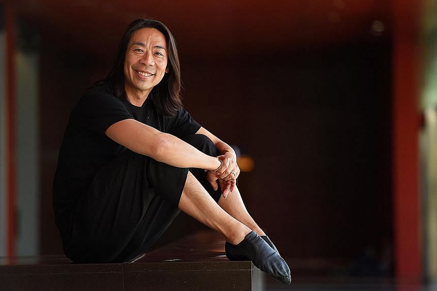 Edwaard Liang started ballet dancing at age five because his elder sister was taking classes.
