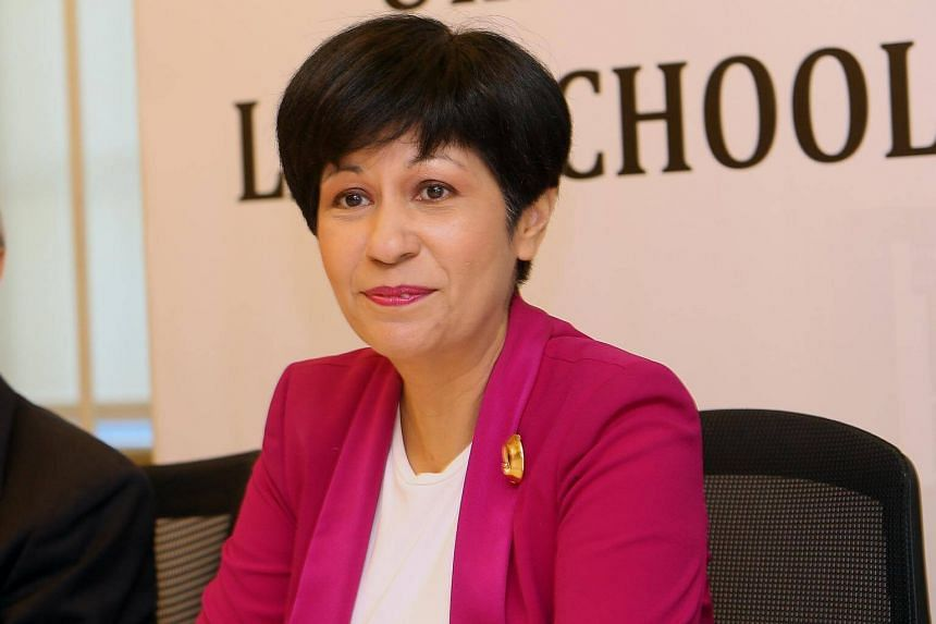 Senior Minister of State for Finance Indranee Rajah.