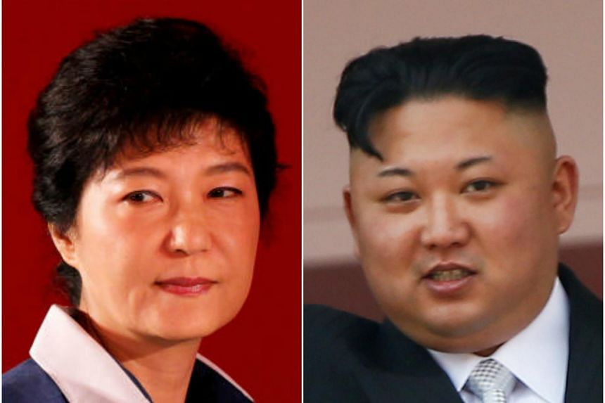 Former South Korean President Park Geun Hye (left) has been accused by North Korea of plotting to assassinate their leader, Kim Jong Un, on Wednesday, June 28.
