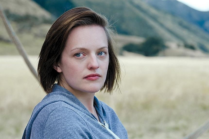 Elisabeth Moss in Top Of The Lake.