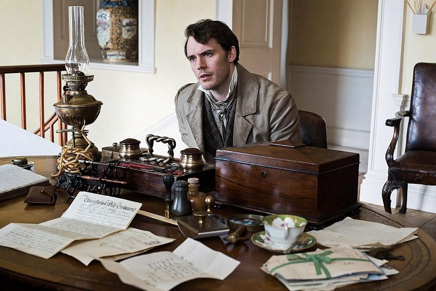 Director Roger Michell is behind My Cousin Rachel, which stars Sam Claflin (above) as wealthy landowner Philip.