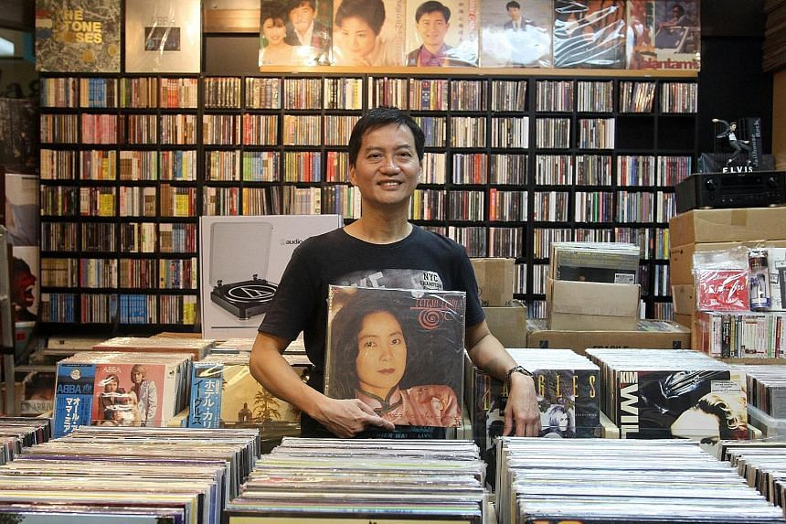 Mr Denny Pue, owner of Simply Music, said that among the new faces are mostly working professionals in their 20s, and students who visit with their parents.