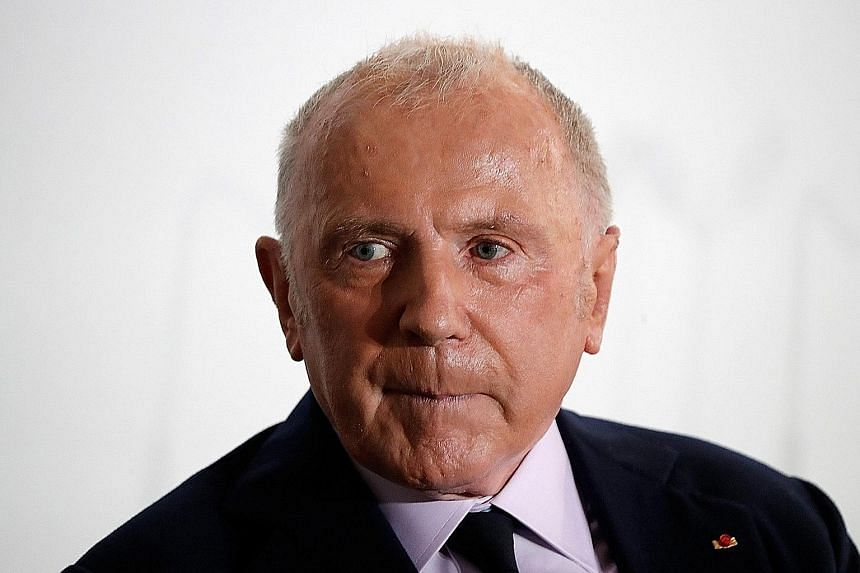 Art collector Francois Pinault (above) has commissioned award-winning architect Tadao Ando to convert the 19th-century Bourse de Commerce.