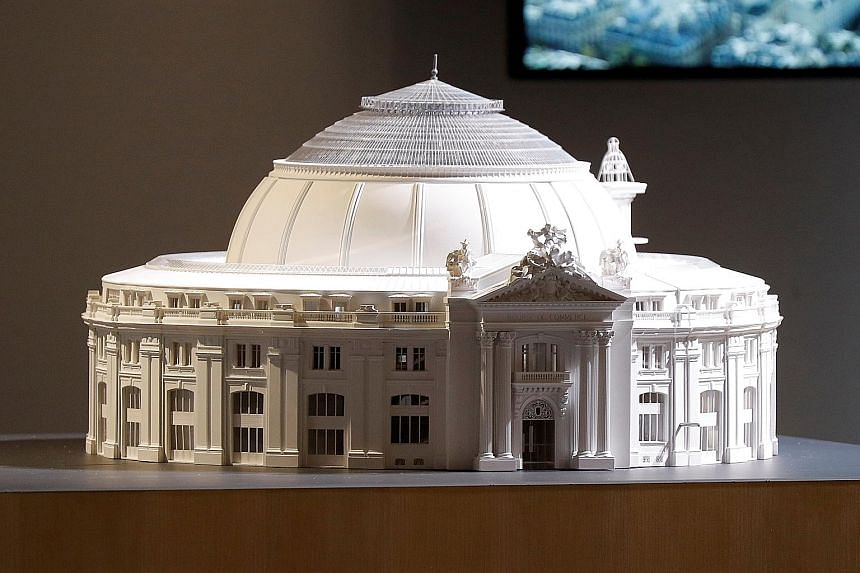 Art collector Francois Pinault has commissioned award-winning architect Tadao Ando to convert the 19th-century Bourse de Commerce (above).