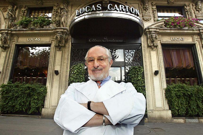 Leading French chef Alain Senderens.