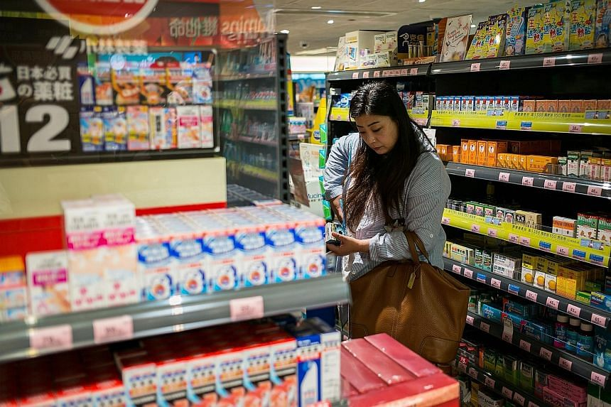 A Watsons store in the Causeway Bay district of Hong Kong. The operator of the health and beauty stores and Superdrug chainplans to open 1,400 outlets globally this year, more than a third of which will be in China. Watsons China's earnings reached