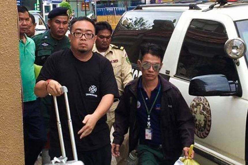 Singaporean man Eng Wei Khiong was arrested at Phnom Penh International Airport on June 23 as he attempted to flee the country.