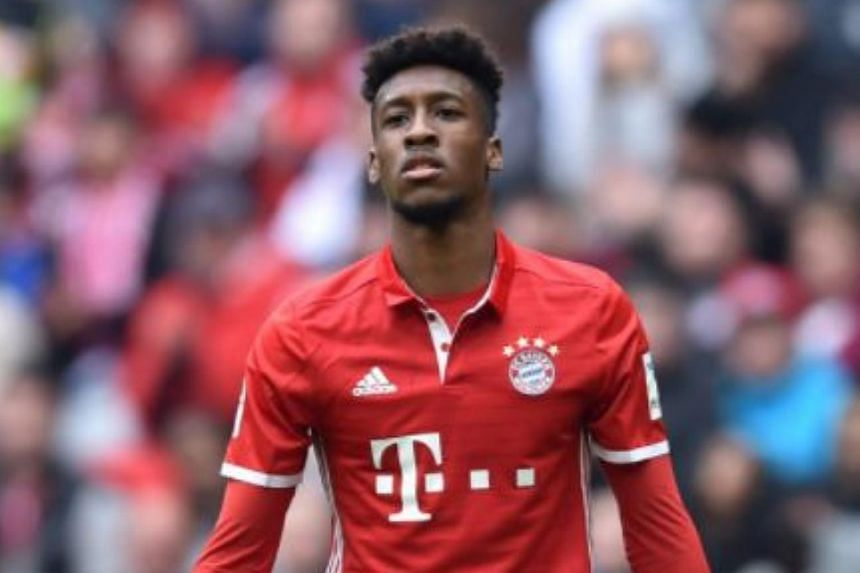 Bayern Munich forward Kingsley Coman reportedly got into an argument with his ex-girlfriend over an advertising contract.