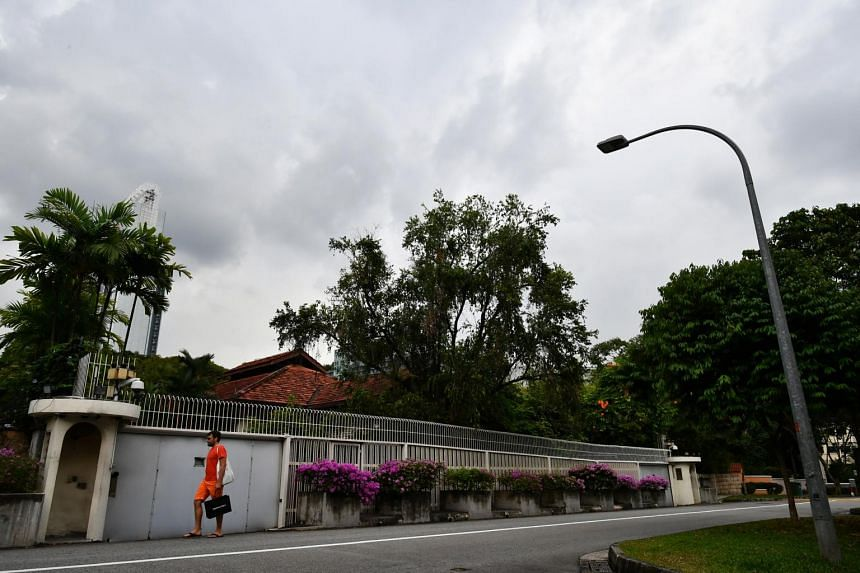 """Mr Lee Hsien Yang said all discussions with DPM Teo """"about options for the house occurred long before the formation of the committee and only with him in his personal capacity""""."""