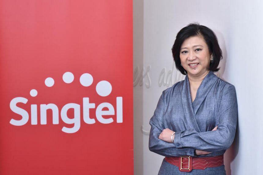Singtel CEO Chua Sock Koong.