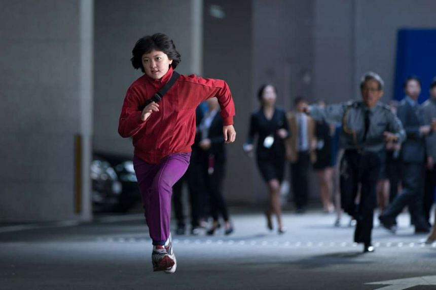Mija (Ahn Seo Hyun) has to brave the big world outside of her home in the mountains of South Korea to save her friend, a giant pig called Okja.