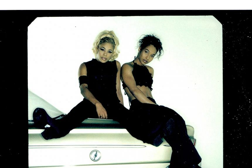 """R&B band TLC are now a duo comprising Tionne """"T-Boz"""" Watkins and Rozonda""""Chilli"""" Thomas after Lisa """"Left Eye"""" Lopes died in a car crash in 2002. PHOTO: KICKSTARTER"""