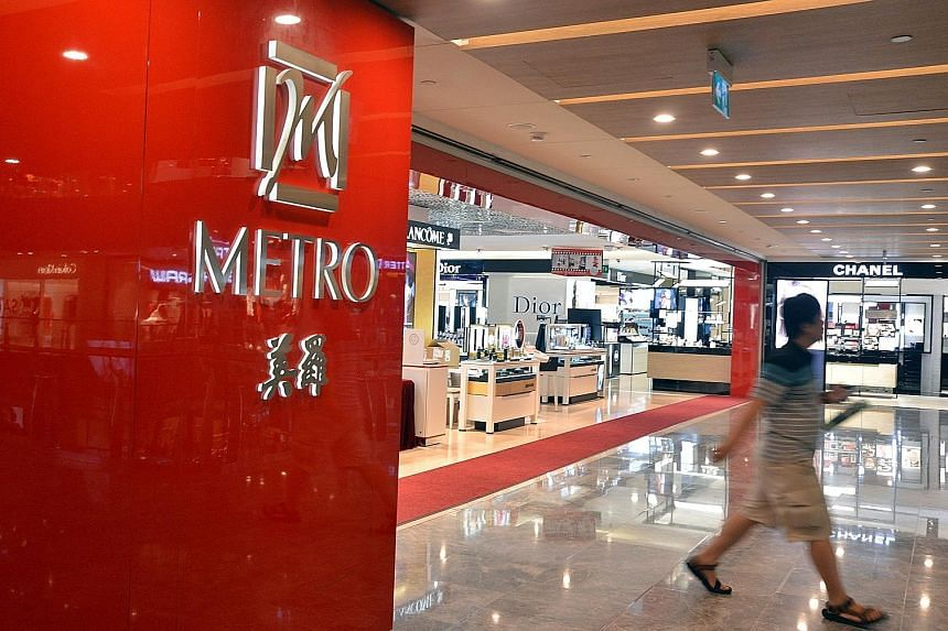 The survey of 6,900 Singapore residents and tourists showed that Metro was the only department store whose customer satisfaction score had increased significantly.